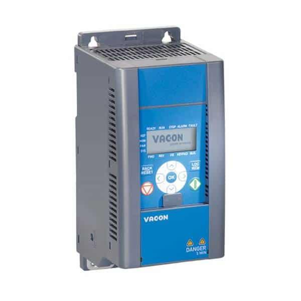 VACON 20 - 2.2KW - IP20 + EMC2 QPES - VACON0020-3L-0006-4  EMC2 QPES